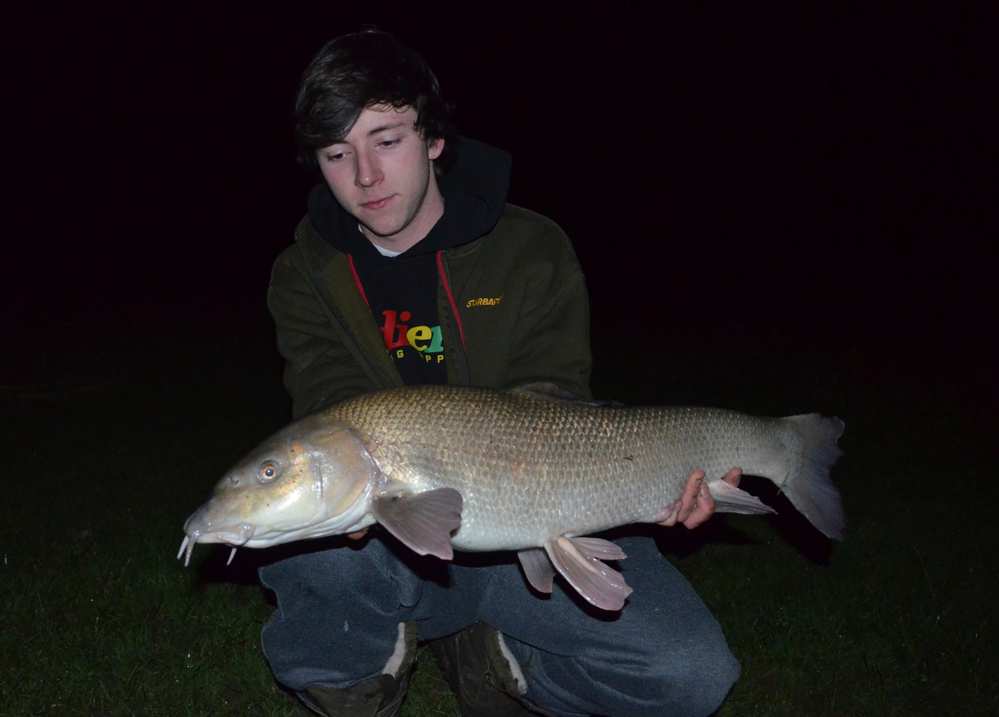 12lb 12oz Barbel - River Ouse