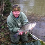 Graham Pitcher finished 2012 with this lovely 6lb 6oz Chub.