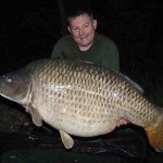 Richard Mariott with a 79lb 8oz Dream Lakes Common!