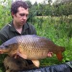 Harlo with a lovely Common Carp