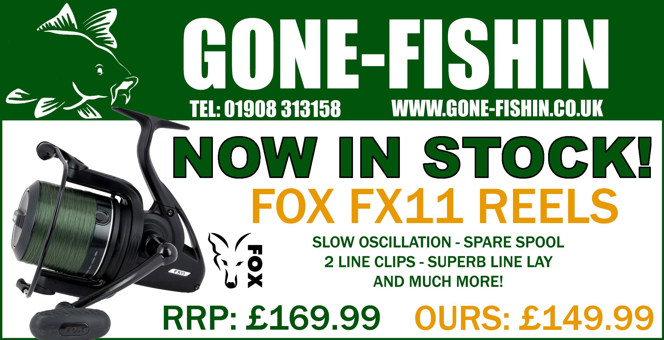 FOX FX11 REELS